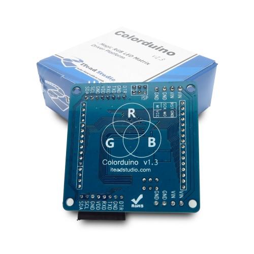 SparkFun LED Matrix - Serial Interface - Red/Green/Blue
