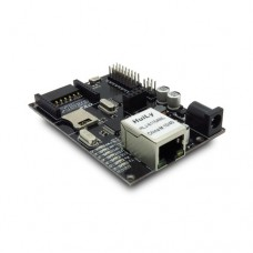 IBOARD ARDUINO ATMEGA328 BOARD WITH WIZNET POE ETHERNET PORT FOR HOME AUTOMATION ROBOT CONTROL