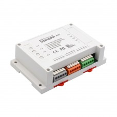 Sonoff 4CH - 4 Channel Din Rail Mounting WiFI Switch